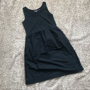 EUC Gap cotton lined tank dress with pockets